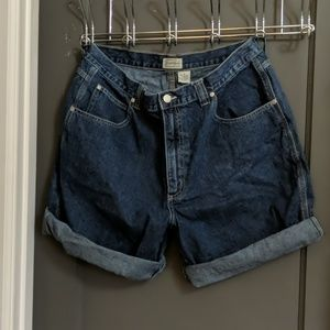 Size 16 Women's High Waisted Denim Shorts